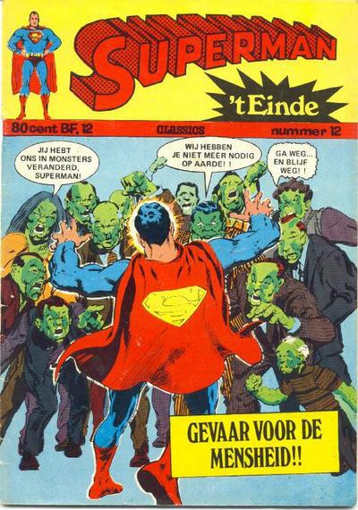 Cover for Superman Classics (Classics/Williams, 1971 series) #12
