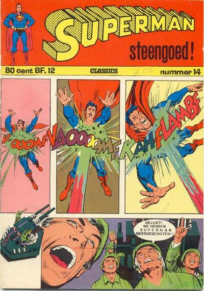 Cover for Superman Classics (Classics/Williams, 1971 series) #14