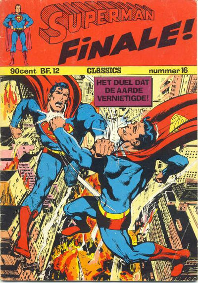 Cover for Superman Classics (Classics/Williams, 1971 series) #16