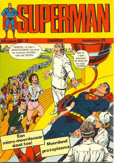 Cover for Superman Classics (Classics/Williams, 1971 series) #21