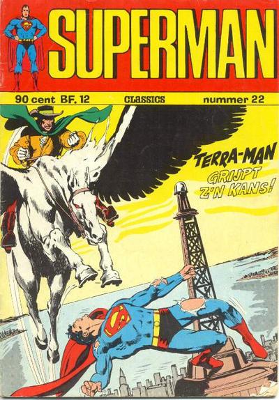 Cover for Superman Classics (Classics/Williams, 1971 series) #22