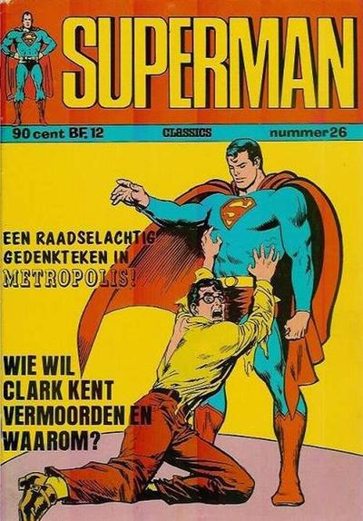 Cover for Superman Classics (Classics/Williams, 1971 series) #26
