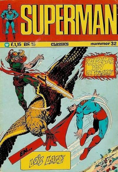 Cover for Superman Classics (Classics/Williams, 1971 series) #32