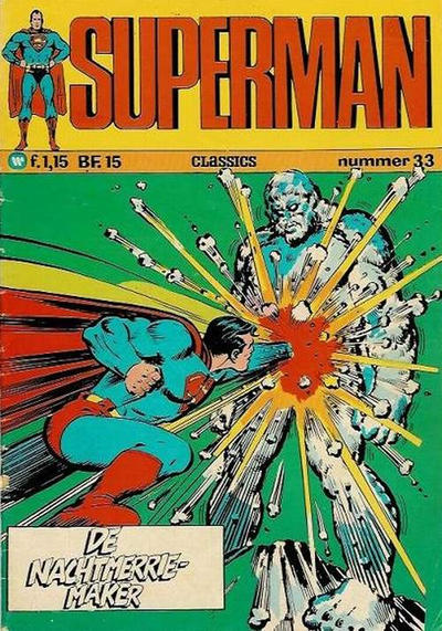 Cover for Superman Classics (Classics/Williams, 1971 series) #33