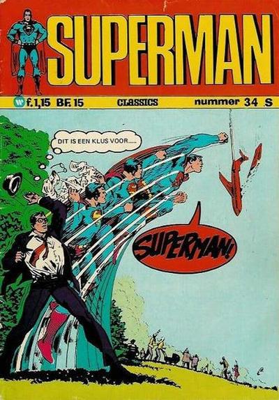 Cover for Superman Classics (Classics/Williams, 1971 series) #34