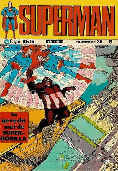 Cover for Superman Classics (Classics/Williams, 1971 series) #35