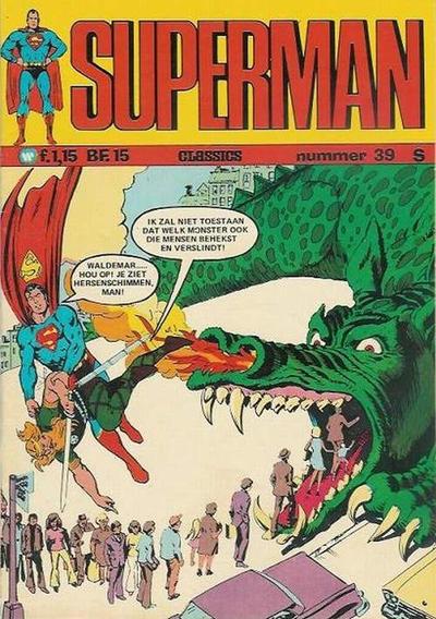 Cover for Superman Classics (Classics/Williams, 1971 series) #39