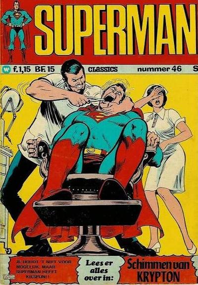 Cover for Superman Classics (Classics/Williams, 1971 series) #46