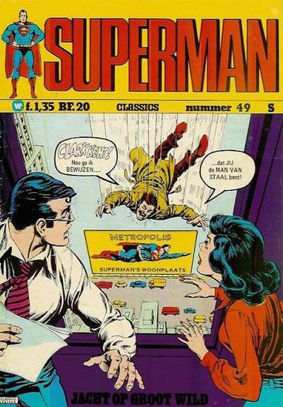 Cover for Superman Classics (Classics/Williams, 1971 series) #49