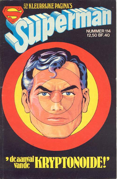 Cover for Superman Classics (Classics/Williams, 1971 series) #114