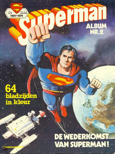 Cover for Superman Album (Classics/Williams, 1978 series) #2