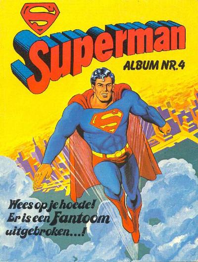 Cover for Superman Album (Classics/Williams, 1978 series) #4