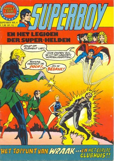Cover for Superboy en het Legioen der Super-Helden (Classics/Williams, 1975 series) #4