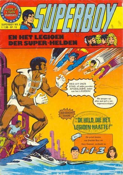 Cover for Superboy en het Legioen der Super-Helden (Classics/Williams, 1975 series) #8