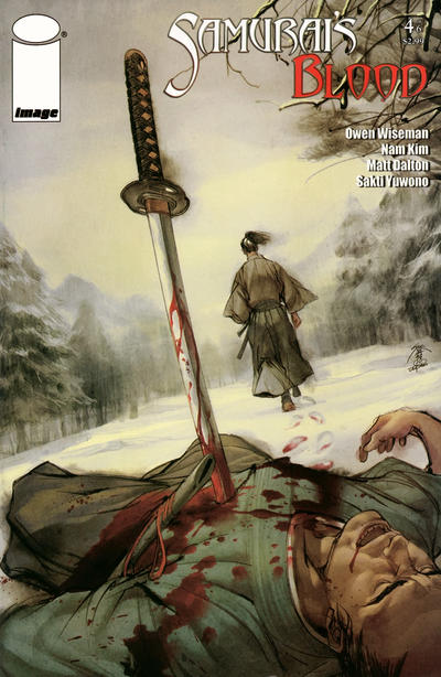 Cover for Samurai's Blood (Image, 2011 series) #4