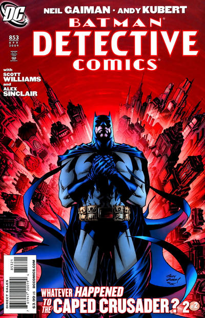 Cover for Detective Comics (DC, 1937 series) #853 [Direct]