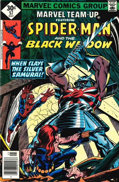 Cover for Marvel Team-Up (Marvel, 1972 series) #57