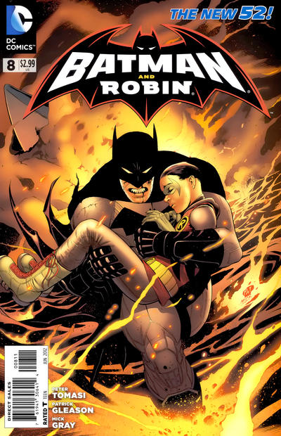 Cover for Batman and Robin (DC, 2011 series) #8
