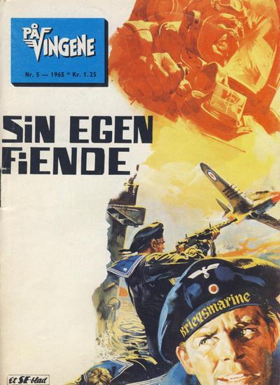 Cover for På Vingene (Serieforlaget / Se-Bladene / Stabenfeldt, 1963 series) #5/1965