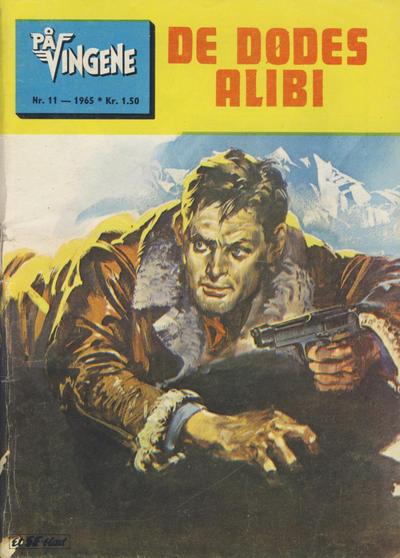 Cover for På Vingene (Serieforlaget / Se-Bladene / Stabenfeldt, 1963 series) #11/1965