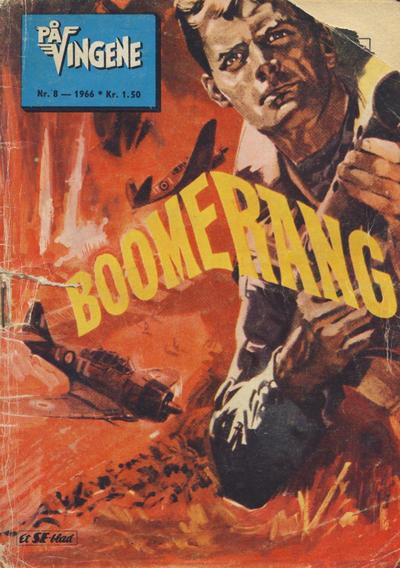 Cover for På Vingene (Serieforlaget / Se-Bladene / Stabenfeldt, 1963 series) #8/1966