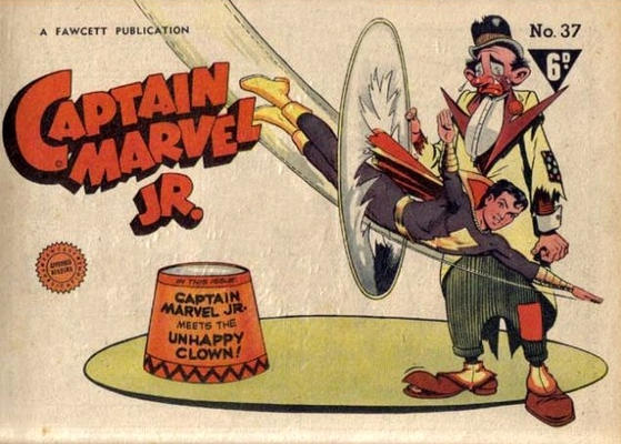 Cover for Captain Marvel Jr. (Cleland, 1947 series) #37