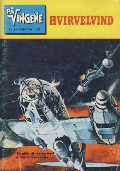 Cover for På Vingene (Serieforlaget / Se-Bladene / Stabenfeldt, 1963 series) #3/1969