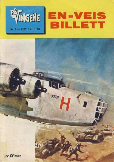 Cover for På Vingene (Serieforlaget / Se-Bladene / Stabenfeldt, 1963 series) #7/1967