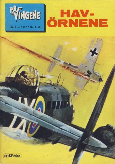 Cover for På Vingene (Serieforlaget / Se-Bladene / Stabenfeldt, 1963 series) #6/1967
