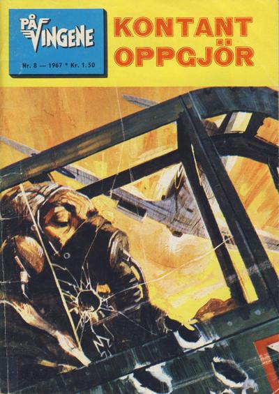 Cover for På Vingene (Serieforlaget / Se-Bladene / Stabenfeldt, 1963 series) #8/1967