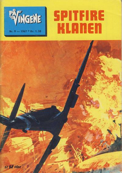 Cover for På Vingene (Serieforlaget / Se-Bladene / Stabenfeldt, 1963 series) #9/1967