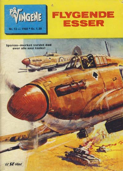 Cover for På Vingene (Serieforlaget / Se-Bladene / Stabenfeldt, 1963 series) #12/1968