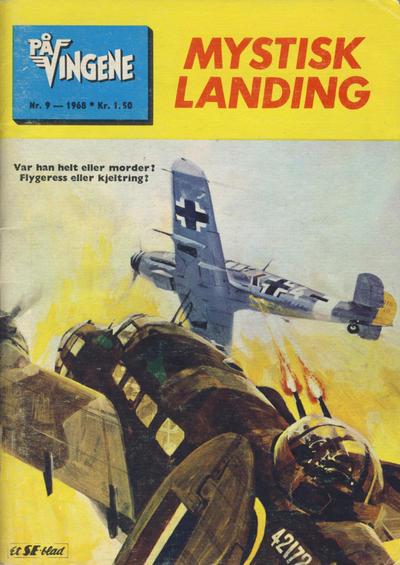Cover for På Vingene (Serieforlaget / Se-Bladene / Stabenfeldt, 1963 series) #9/1968