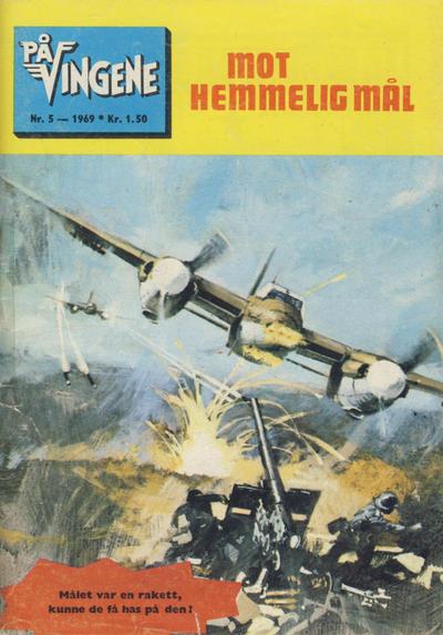 Cover for På Vingene (Serieforlaget / Se-Bladene / Stabenfeldt, 1963 series) #5/1969