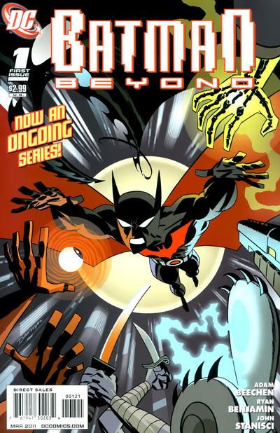 Cover for Batman Beyond (DC, 2011 series) #1 [Darwyn Cooke Variant Cover]