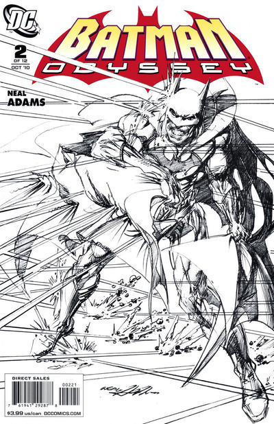 Cover for Batman: Odyssey (DC, 2010 series) #2 [Regular cover]