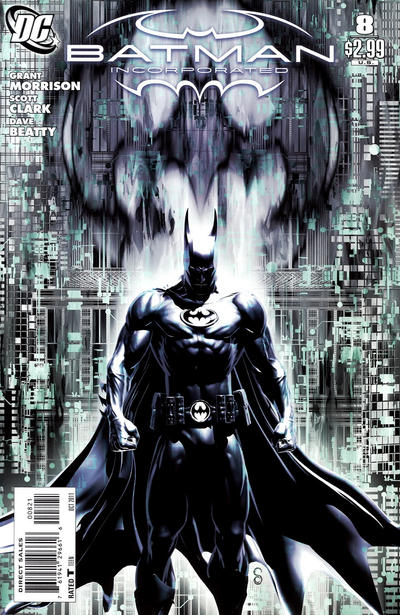 Cover for Batman, Inc. (DC, 2011 series) #8 [Scott Clark Variant Cover]