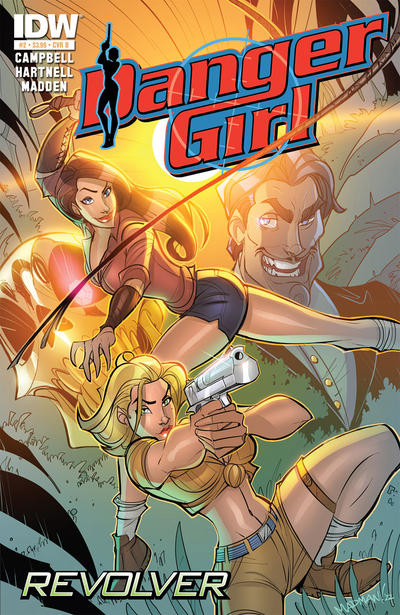 Cover for Danger Girl: Revolver (IDW, 2012 series) #2 [Cover B]