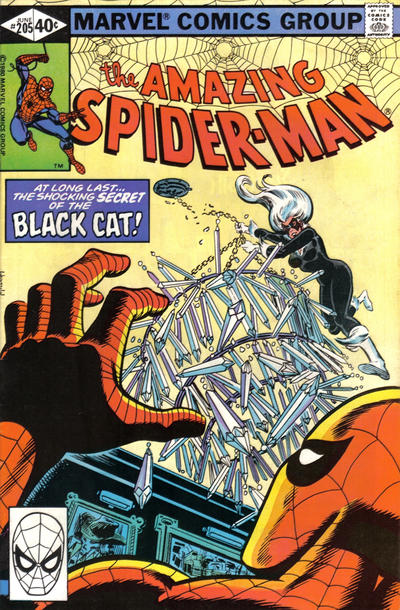 Cover for The Amazing Spider-Man (Marvel, 1963 series) #205 [Newsstand Edition]
