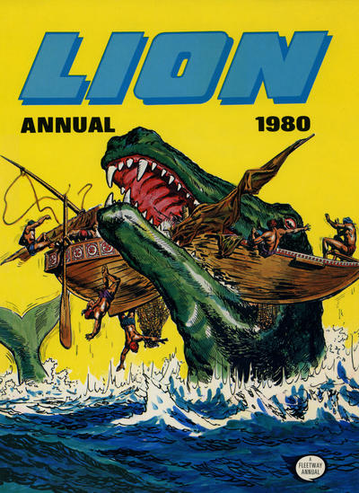 Cover for Lion Annual (Fleetway Publications, 1954 series) #1980