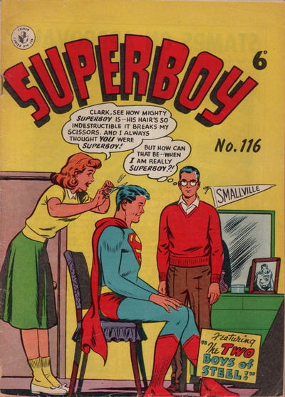 Cover for Superboy (K. G. Murray, 1949 series) #116