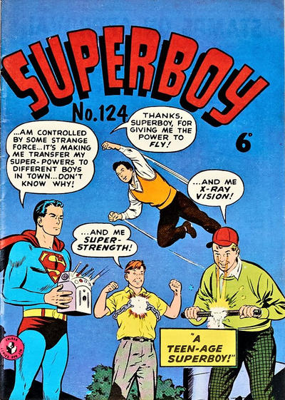 Cover for Superboy (K. G. Murray, 1949 series) #124