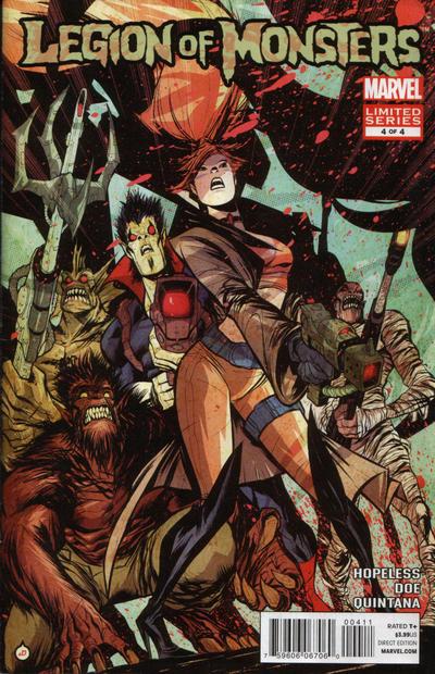 Cover for Legion of Monsters (Marvel, 2011 series) #4