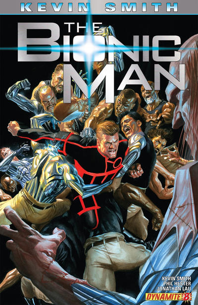 Cover for Bionic Man (Dynamite Entertainment, 2011 series) #8 [Virgin Art Cover]
