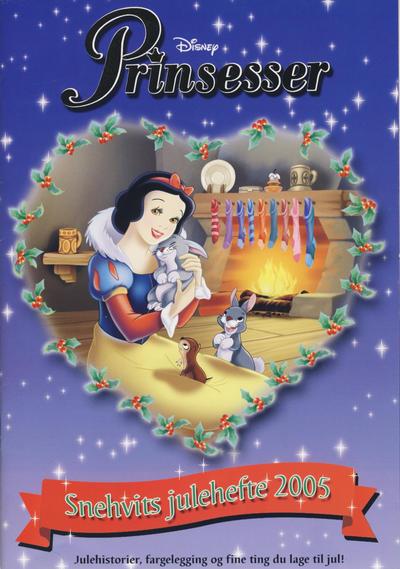 Cover for Disney Prinsesser julekalender (Hjemmet / Egmont, 2002 series) #2005