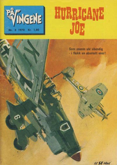 Cover for På Vingene (Serieforlaget / Se-Bladene / Stabenfeldt, 1963 series) #3/1970