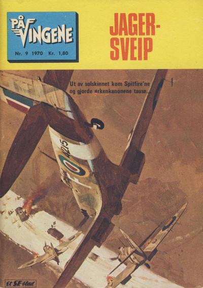 Cover for På Vingene (Serieforlaget / Se-Bladene / Stabenfeldt, 1963 series) #9/1970
