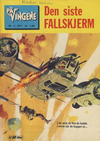 Cover for På Vingene (Serieforlaget / Se-Bladene / Stabenfeldt, 1963 series) #2/1971