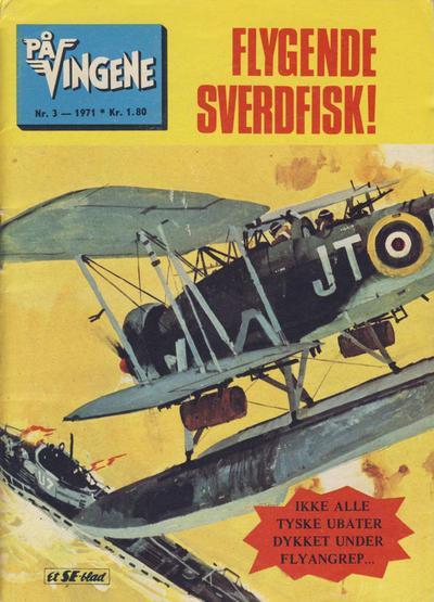 Cover for På Vingene (Serieforlaget / Se-Bladene / Stabenfeldt, 1963 series) #3/1971