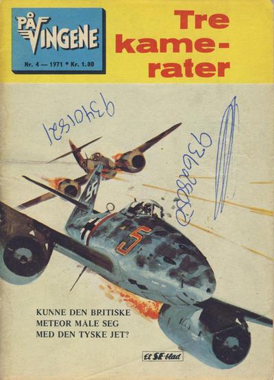 Cover for På Vingene (Serieforlaget / Se-Bladene / Stabenfeldt, 1963 series) #4/1971